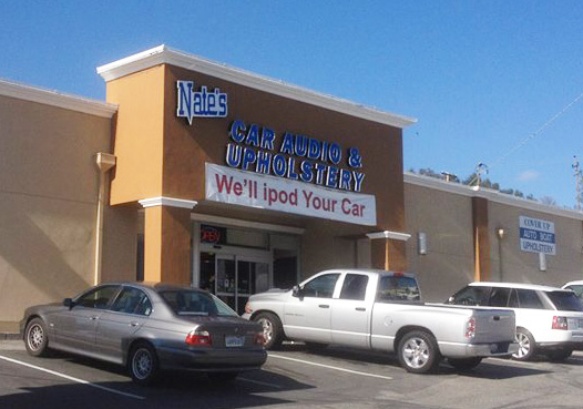 Nate's Audio & Upholstery Auburn CA. Storefront
