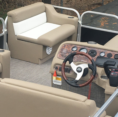 Pontoon Boat Upholstery 1