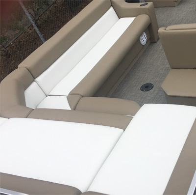 Pontoon Boat Upholstery 2