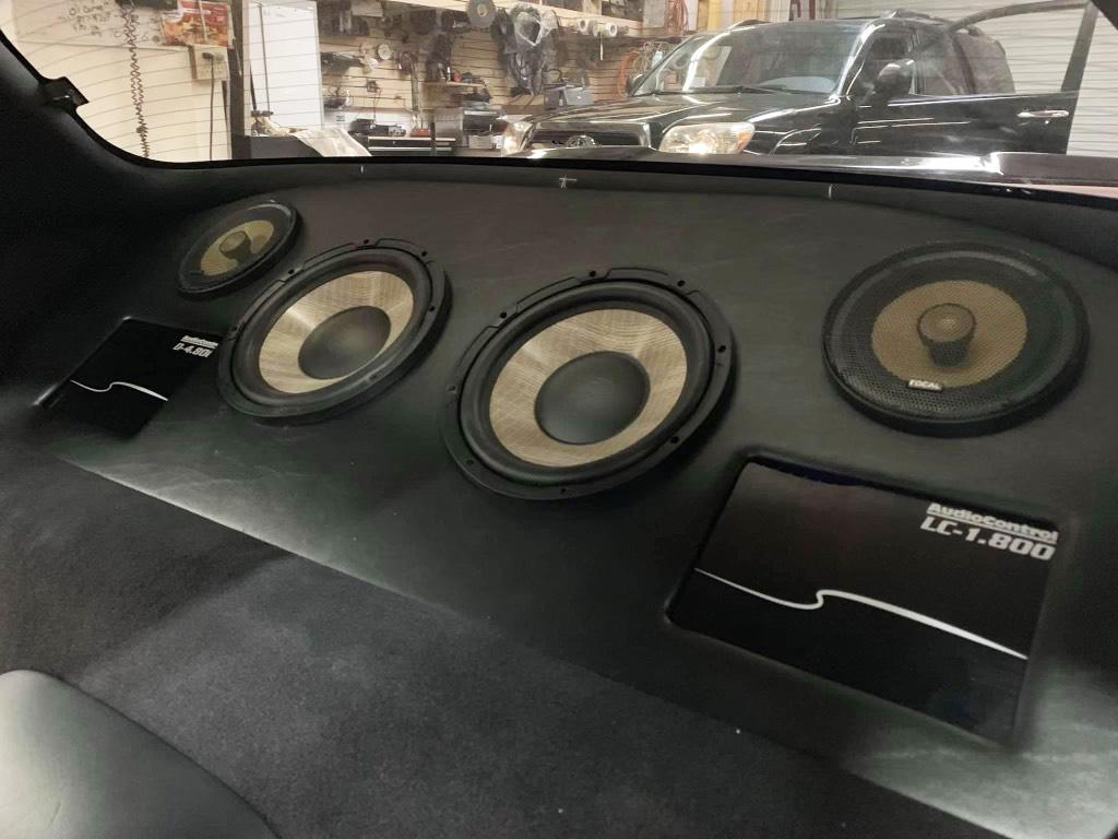 Audio Control LC1.800 Subwoofer Box
